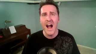Jeremy Cain singing Galileo by Josh Groban