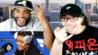 MY DAD REACTS TO YOUNG M.A | FUNK FLEX | #Freestyle132 REACTION