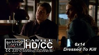 "Castle 6x14 ""Dressed To Kill"" Beckett Sends Castle (HD/CC)"