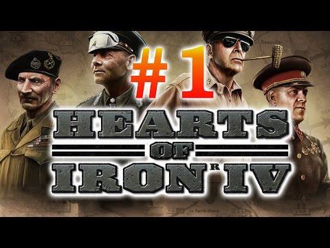Hearts of Iron IV - #1 - начало