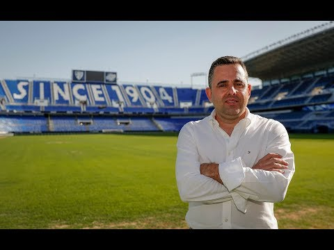 Rafa Gil, director de la cantera del Málaga