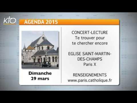Agenda du 23 mars 2015