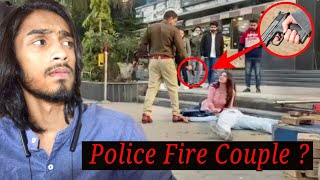 Police Fire Couple India in Front Of Mall || Police Killed Couple India || Viral Video