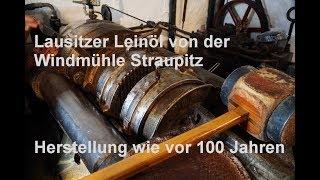 Frisch gepresstes Leinöl aus Straupitz in der Lausitz