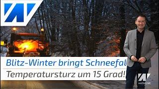 wetter.net spezial: Jetzt gibt es doch nochmal Schnee. Zum Mittwoch gibt es einen deutlichen Temperatursturz um lokal mehr als 15 Grad. Regional fällt Schnee bis ganz runter. Dazu gibt es Wind, zeitweise auch mal Regen und recht chaotisches Wetter.   Unsere Webseite: https://wetter.net  Besucht uns auch bei:  Facebook: http://bit.do/facebookwetter Instagram: http://bit.do/instagramwetter Twitter:     http://bit.do/twitterwetter