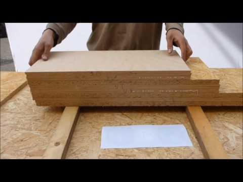 LAZOLA-Bauanleitung C.5 Die 8 mm Plattenteile zusammenleimen - Zwingen entfernen