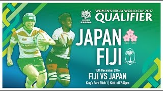Fiji vs Japan (Women's Rugby Word Cup Qualifier)