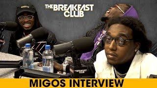 The Breakfast Club - Migos Return To The Breakfast Club, Talk Culture II, The Come Up + More Music