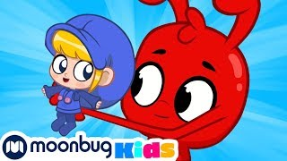 My Magic Pet Morphle - Mia The BABY! | Full Episodes | Funny Cartoons for Kids | Moonbug Kids TV