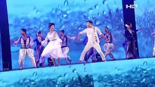 SATV Eid Dance By SHAHNAZ SUMI & RASEL | Rim Rhim Bristite | SATV