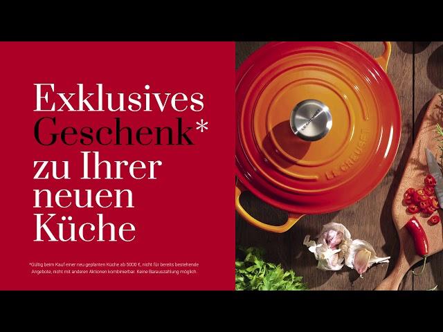 b2f0b30b38f806 Wir spendieren  Ihrer neuen Küche das passende Le Creuset  Premium-Kochgeschirr.