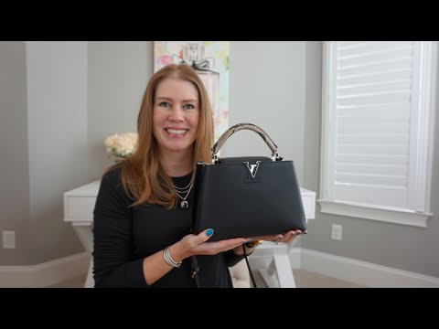 Louis Vuitton Capucines BB, MOD Shots, What's in my bag/Review!