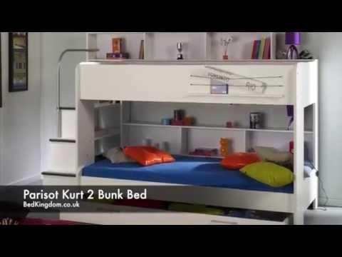 Etagenbett Bibop 11 : Parisot stim etagenbett mit integriertem kleiderschrank
