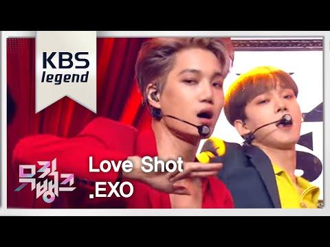 music bank   love shot   exo         20181214