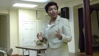 preview picture of video 'Yvette Opening Statement Part 2 at PHDR on April 2012'
