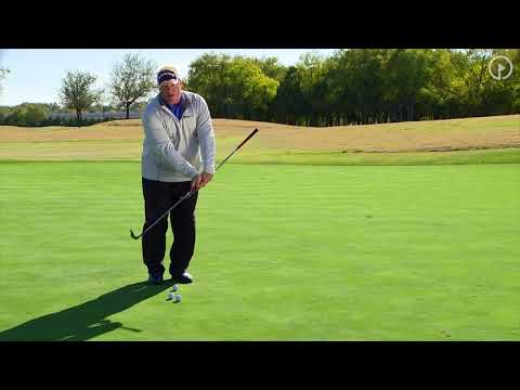 Winter Chipping Drills: 2 Club Drill - Follow Through