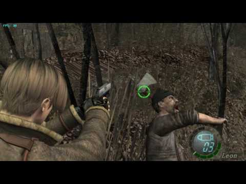 Resident Evil 4: Wii Edition on Dolphin Wii/GC Emulator (720p HD) Full Speed