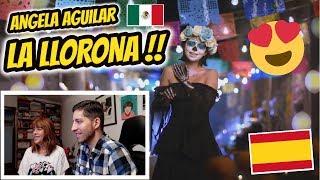 REACCIONO CON MI MADRE A LA LLORONA (ANGELA AGUILAR) | JON SINACHE