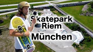Skatepark Riem München: Gut für Skateboard Anfänger