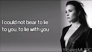 Demi Lovato - You Dont Do It For Me Anymore (Lyrics)