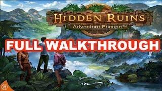 Adventure Escape Hidden Ruins - Full Walkthrough HD
