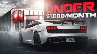 Could $1,000 Per Month Buy You A Lamborghini Gallardo? *Buyers Guide*