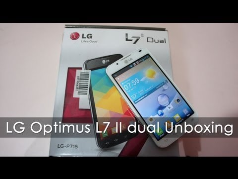 LG L7 II Dual  (P715) Unboxing & Overview