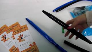 Шланг для кальяна силиконовый Euro Shisha HA-29 с алюминиевым мундштуком, видеообзор 1
