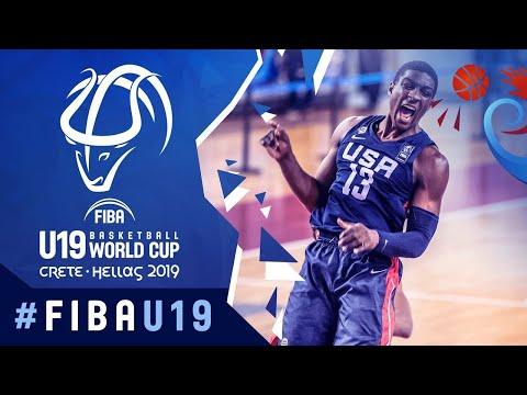 Download Senegal v USA - Full Game - FIBA U19 Basketball World Cup 2019 Mp4 HD Video and MP3