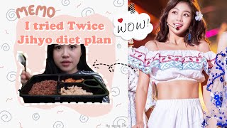 TWICE JIHYO DIET PLAN?