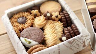 クリスマスプレゼントに♪クッキー缶の作り方 Butter Cookie Box|HidaMari Cooking