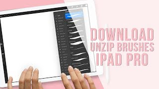 How to Install Procreate Brushes in Procreate 2018 | Unzip on iPad Pro | Holly Pixels