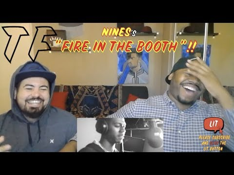 Give me SPACE like the GALAXY!!! | Nines - Fire In The Booth | TF Reaction