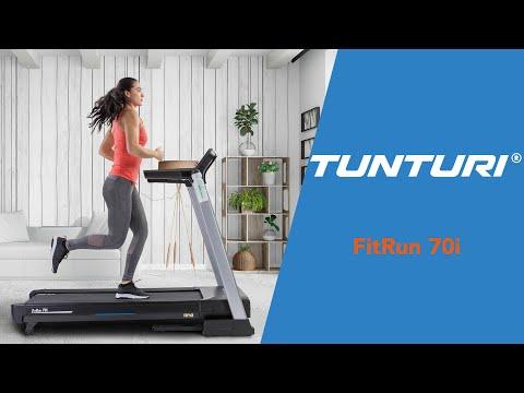 Promovideo: Běžecký pás TUNTURI FitRun 70i