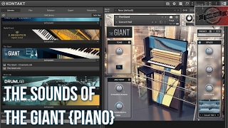 THE SOUNDS OF | THE GIANT {PIANO}