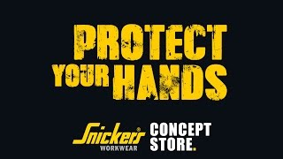 Snickers 9596 Specialized Impact Handschuh RECHTS, grau-schwarz