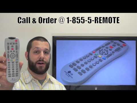 LG 105201M_Master_Service TV Remote Control