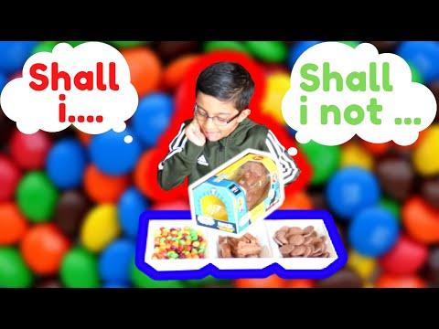 Funniest kids temptation challenge.