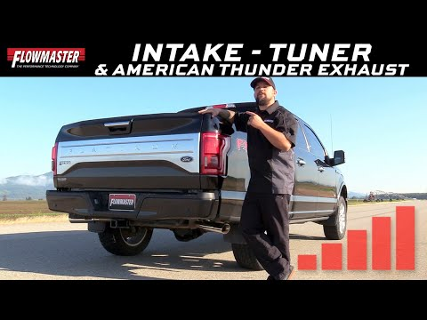 2018 Ford F-150 3.5L Ecoboost - Flowmaster Intake, Exhaust and Delta Boost Tuner
