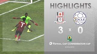 CC CAF : Zanaco FC 3-0 ESAE FC