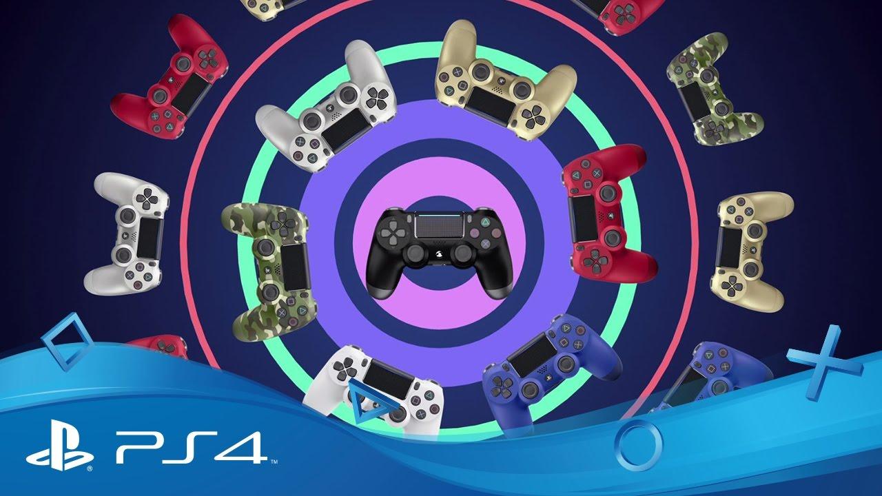 Джойстик DualShock 4 для Sony PS4 V2 (Camo) video preview