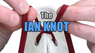 """The """"Ian Knot"""", the world's fastest shoelace knot – Professor Shoelace"""