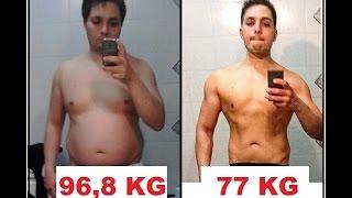 2 Anni Trasformazione Fisica / 2 Years Diet Trasformation 20 Kg