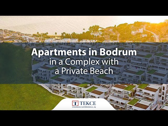Seaside Apartments in Bodrum Gumusluk with a Courtyard