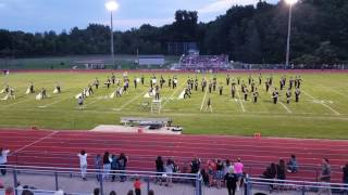 Armada High School Marching Band Song 1 9/9/16