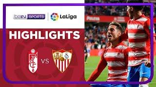 Granada 1-0 Sevilla Pekan 8