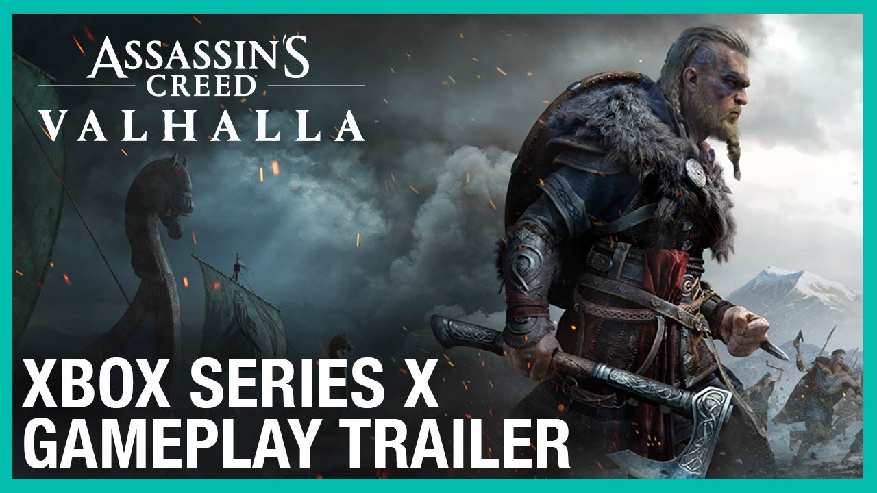 Watch This Assassin S Creed Valhalla Gets Its First Gameplay Trailer