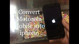 Convert Your Motorola Mobile into Apple iPhone | Install iOS System on Motorola