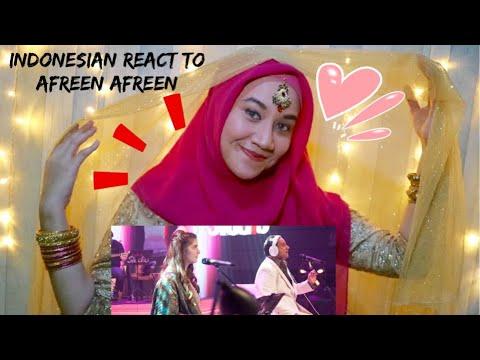 Afreen Afreen, Rahat Fateh Ali Khan & Momina Mustehsan Coke Studio - INDONESIA REACTION