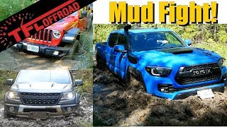 Muddy Mayhem: Colorado vs Gladiator vs Tacoma - Which is the Best Off-Road Midsize Pickup?